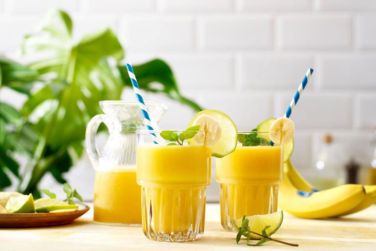 Recettes de smoothies sains pour l'été