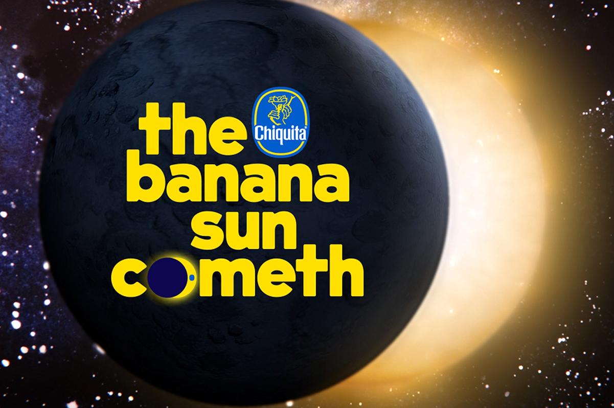L'arrivée du soleil banane