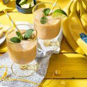 Smoothie tropical à la banane Chiquita et au yaourt
