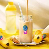 Peanut Butter and Chiquita Banana Pre Workout Shake