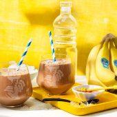 Shake protéiné à la banane Chiquita post-entraînement