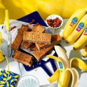 Pre Workout Chiquita Banana Bread Protein Bars