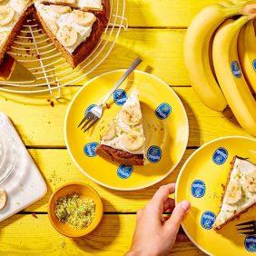 Gâteau aux carottes et aux bananes Chiquita