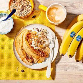 Crêpes au gâteau aux bananes Chiquita