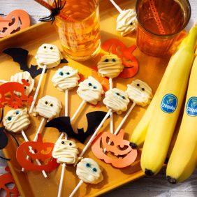 Pop cakes Halloween bananes Chiquita