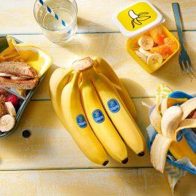 Des collations saines pour les enfants? Les bananes Chiquita répondent à vos attentes!