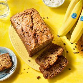 Gâteau aux bananes et aux pépites de chocolat de Chiquita