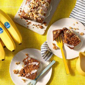 Gâteau aux bananes sans œufs par Chiquita