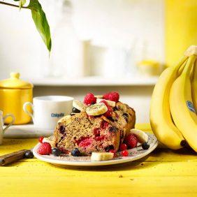 Gâteau aux bananes sans gluten de Chiquita