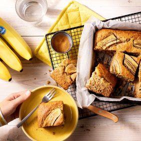 Gâteau aux bananes sain par Chiquita