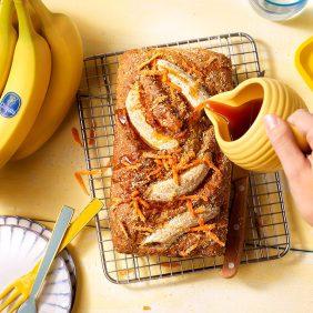 Gâteau aux bananes végétalien par Chiquita