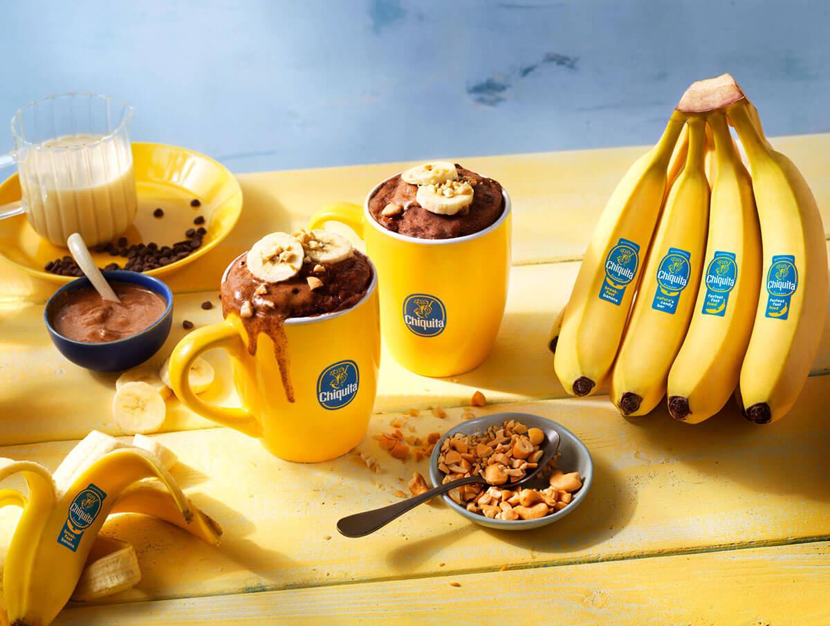 Le meilleur mug cake au chocolat et à la banane Chiquita