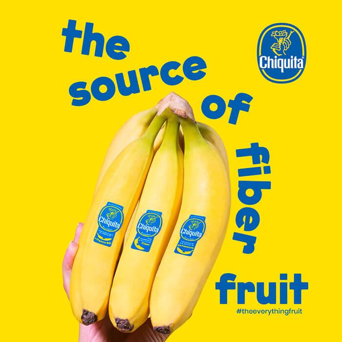 Banane Chiquita: source de fibres