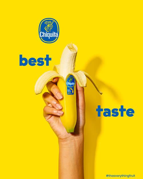 Bananes Chiquita: meilleur goût