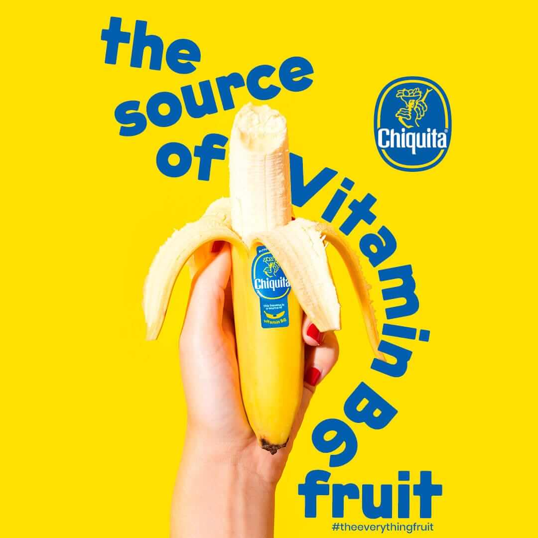 Banane Chiquita: source de vitamineB6