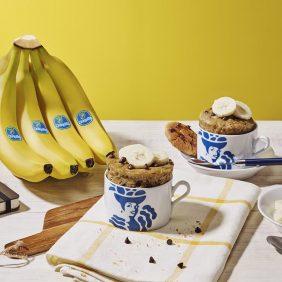 Mug cookie à la banane Chiquita et aux pépites de chocolat