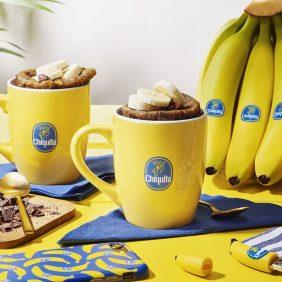 Pain aux bananes Chiquita dans un mug