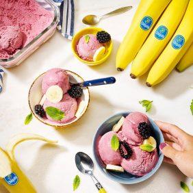 Crème glacée à la banane par Chiquita