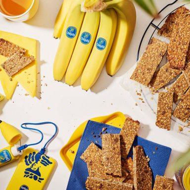 Barres énergétiques pré-entraînement à la banane et aux amandes de Chiquita