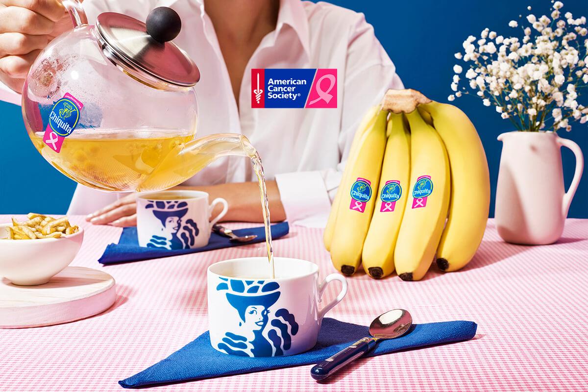 Tisane à la banane et à la camomille par Chiquita