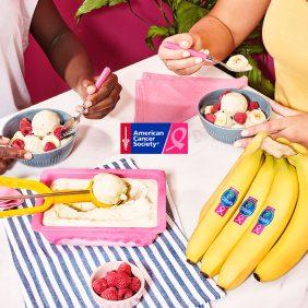 Yaourt glacé à la cardamome et à la banane par Chiquita