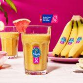 Smoothie à la banane Chiquita, au pamplemousse et au gingembre