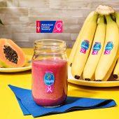 Smoothie à la banane Chiquita et à la papaye